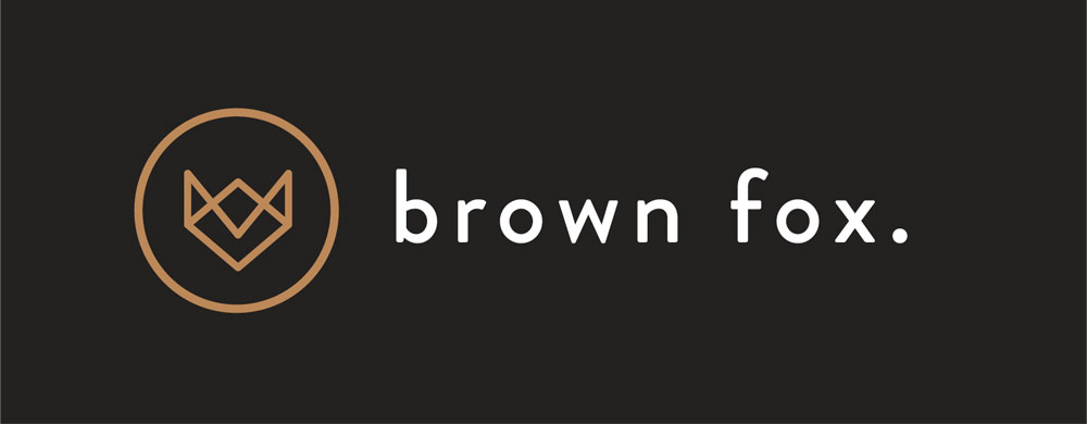 Brown Fox Salon Wagga Wagga logo design